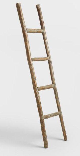 world market ladder home decor accessories