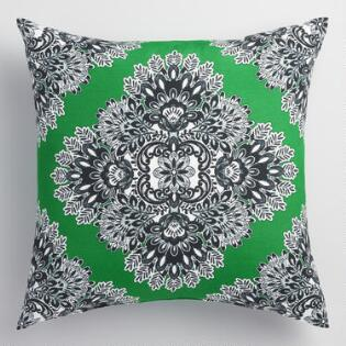world market outdoor green esmaralda pillow home decor patio decorating tips