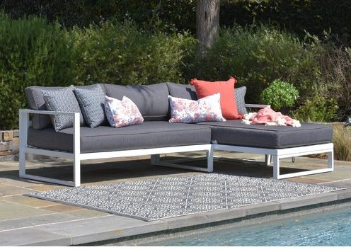Wayfair Elle Decor Sectional outdoor home decor patio decorating tips