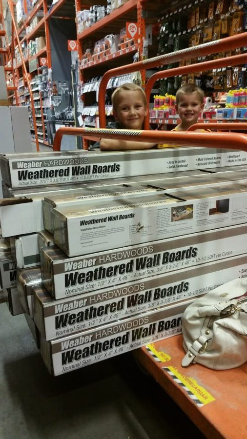 weaber hardwoods, lumber, weathered wall boards