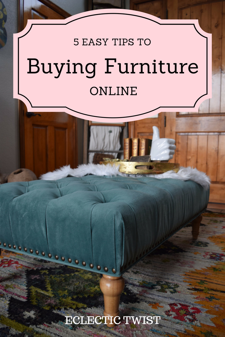 5 tips to buying furniture online, shopping for furniture online, saving money buying furniture online, home decor, interior design