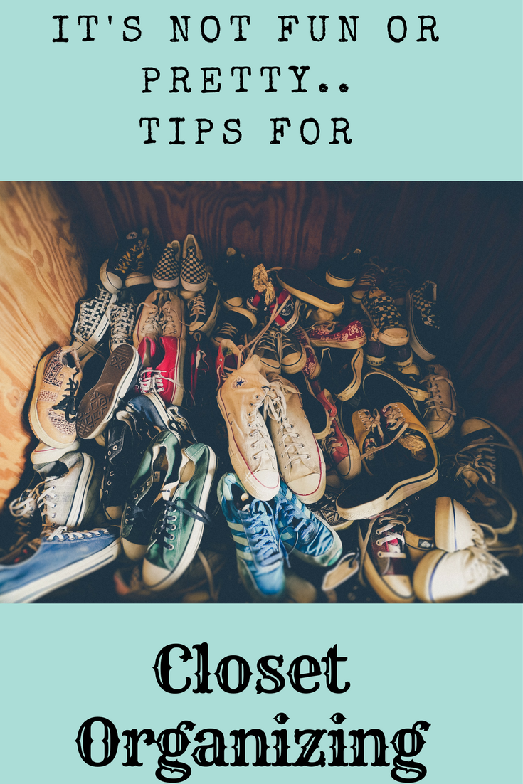 tips to organize your closets, closet organizing, cleaning out closets, home