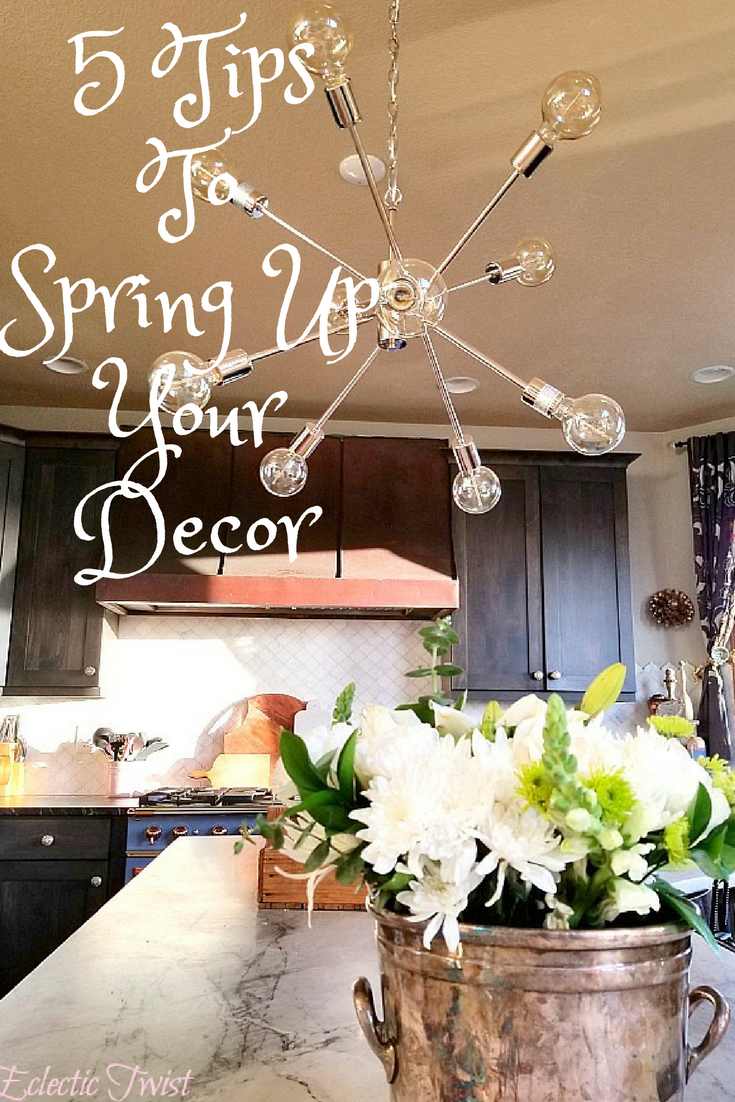 tips to spring up your decor, easy ways to bring spring inside, bring spring in, home decor, interior design,