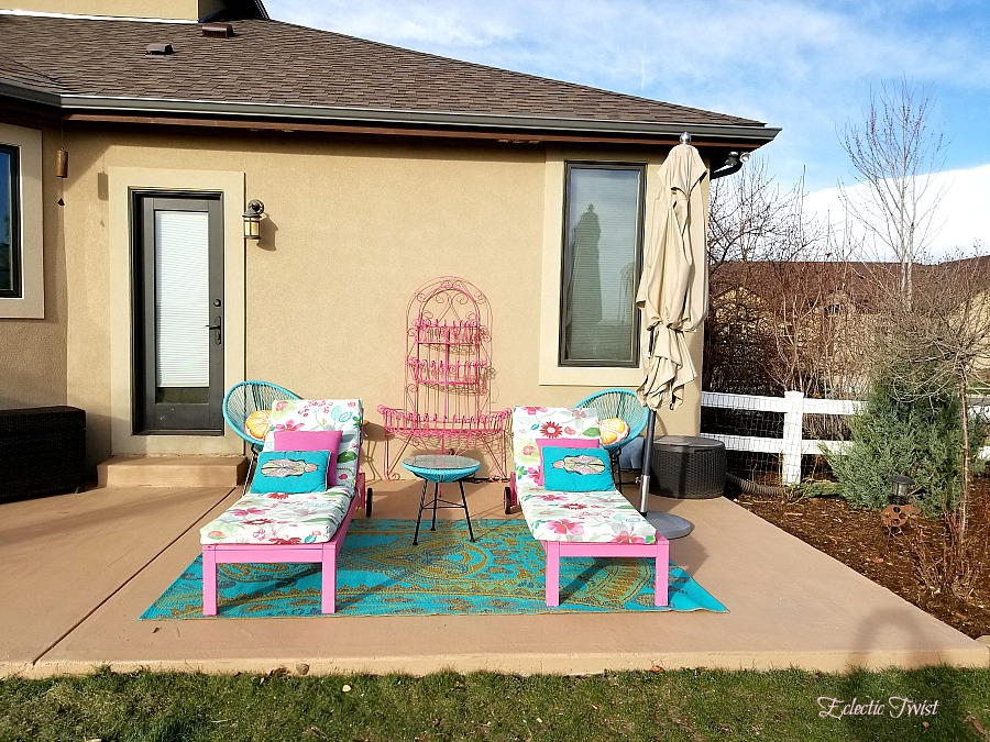quick and easy outdoor updates, freshen up your patio, officially listed for sale, home decor, interior design