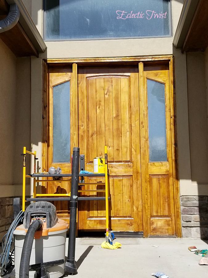 refinishing the front door, quick and easy outdoor updates, freshen up your patio, officially listed for sale, home decor, interior design