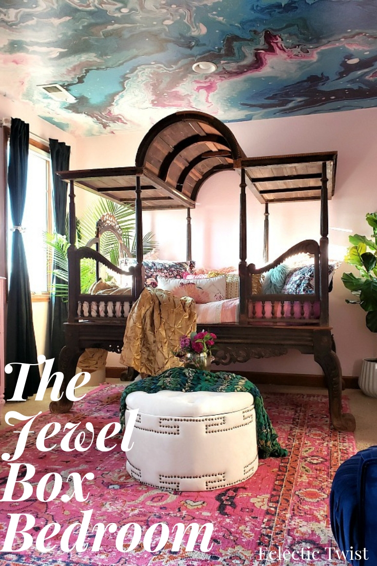 . The Jewel Box Bedroom   Fit For A Queen   Eclectic Twist