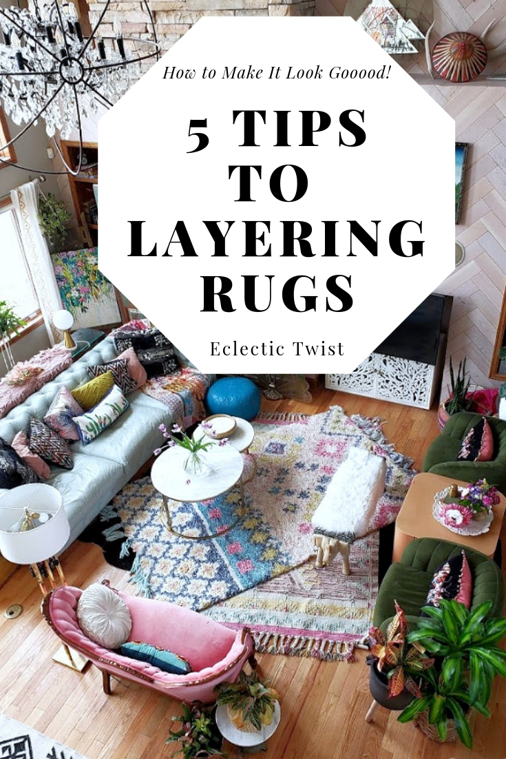 tips to layering rugs, how to layer rugs, home decor, interior design, family room, bedroom, using smaller rugs, textures