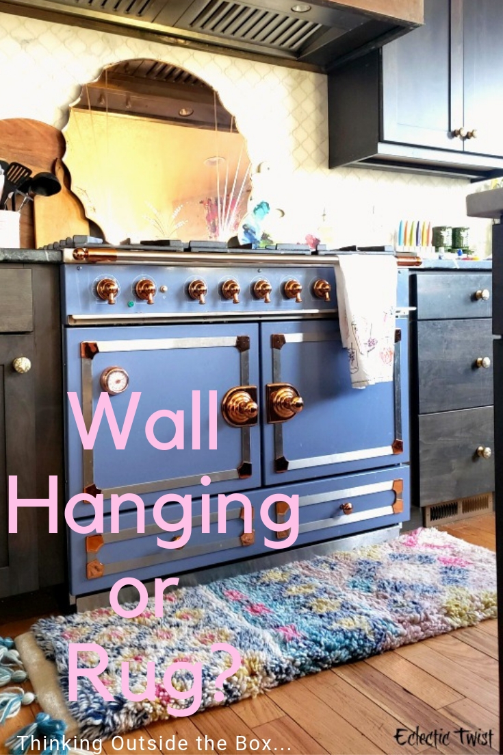 wall hanging or rug, thinking outside the box, diy, home decor, interior, design, small runner