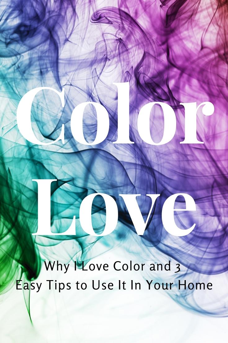 color love, using color in decor, interior design, using color in design, home decor, colorful tips