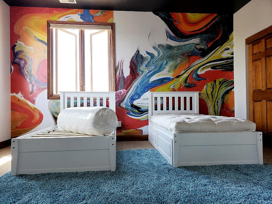 Boys Bedroom Twin Storage Beds Organic Non Toxic