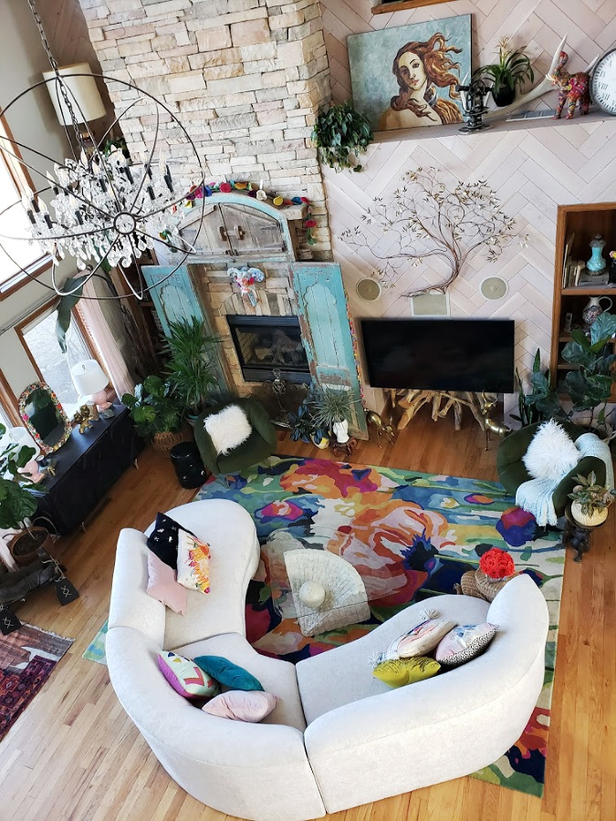 The Vintage Sectional Is Here Tips To Buying Furniture Sight Unseen Online Eclectic Twist How i turn a $3 chair from goodwill in to a $200 profit. buying furniture sight unseen online